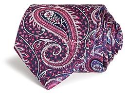 Eton Wide Paisley Silk Classic Tie