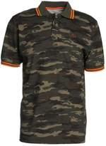Alpha Industries Twin Stripe Polo Shirt Woodland