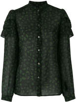 Vanessa Seward embroidered fitted blouse
