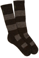 Smartwool Double Insignia Medium Crew Socks - Extra Large