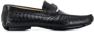 Cesare Paciotti textured loafers