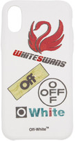 Off-White Off White White Multilogo iPhone X Case
