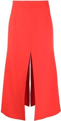A.W.A.K.E. Mode Split-Embellished Skirt