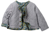 Tea Collection Floris El Vatici Reversible Jacket (Baby Girls)