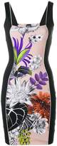 Just Cavalli slim-fit printed dress