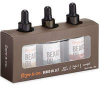 Tricoastal Design Tri Coastal Design Beard Oil Set, 3 x 1 oz./ 30 mL