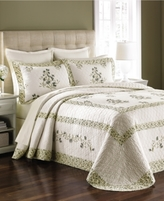 Martha Stewart Collection CLOSEOUT! Collection Abbey Garden Twin Bedspread (Only at Macy's)