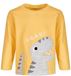 First Impressions Toddler Boys Roar Dino Cotton T-Shirt, Created for Macy's