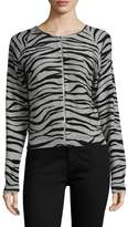 Tracy Reese Women's Intarsia Cotton Cardigan