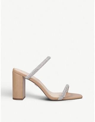 Kg Kurt Geiger Fabiene embellished backless sandals