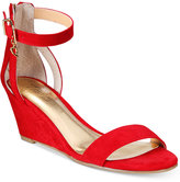 Thalia Sodi Areyana Two-Piece Wide-Width Wedge Sandals, Only at Macy's