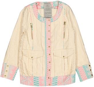 Heimstone Ecru Cotton Jacket for Women