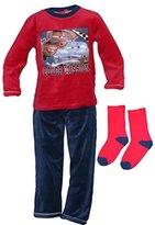 Disney Kids Lightning Mcqueen Pajama / Pyjama Set - Velvet