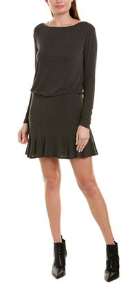 Bailey 44 Boatneck Wool-Blend Drop Waist Dress