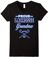 Women's Proud Lacrosse Grandma T-Shirt (USA) Small