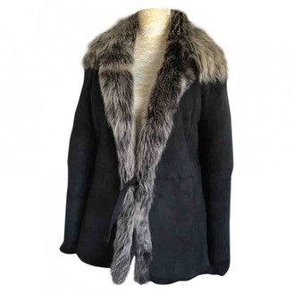 Mulberry Black Shearling Jackets