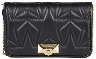 Jimmy Choo Helia Quilted Star Clutch Bag