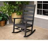 Polywood Shaker Rocking Chair Color: Black
