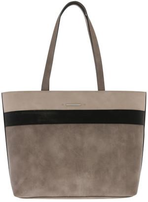 Basque Amy Double Handle Grey Tote Bag