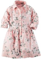 Carter's Floral Dress (Toddler/Kid) - Print - 2T