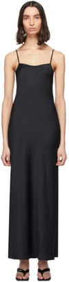 Alexander Wang Black Light Wash and Go Maxi Cami Dress