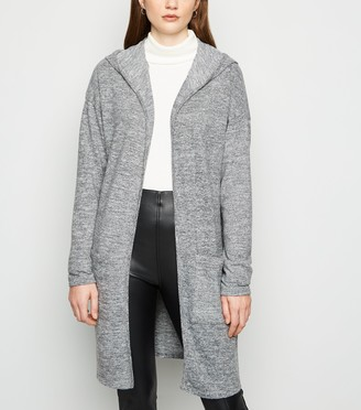 New Look Longline Hooded Cardigan