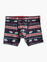 Lucky Brand Holiday Stretch Boxer Briefs