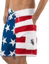 Americana G Iii Men's G-III Sports by Carl Banks Red/Blue Chicago White Sox Swim Trunks