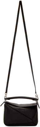 Loewe Black Mini Puzzle Bag
