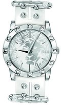 Versus By Versace Versus Versace Women's Miami Stainless Steel White Leather Watch