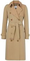Burberry Two-tone Cotton Gabardine Trench Coat