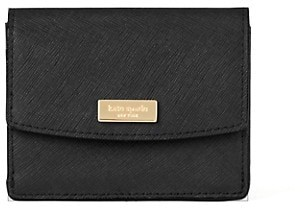 Kate Spade Textured Leather Snap Wallet