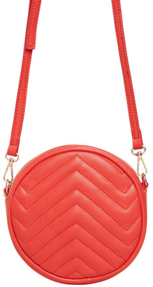French Connection Quilted Circle Bag