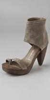 Zing Punch Platform Sandals