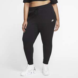 Nike Women's (Plus Size Sportswear Tech Fleece Pants