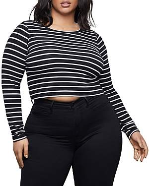 Good American Cropped T-Shirt