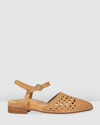 Bared Footwear - Women's Brown Sandals - Turaco Flat Sandals - Women's - Size One Size, 35 at The Iconic