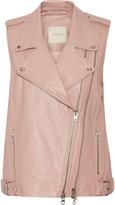 Michelle Mason Leather vest