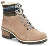 Anne Klein Langstyn Faux Fur-Lined Ankle Boots