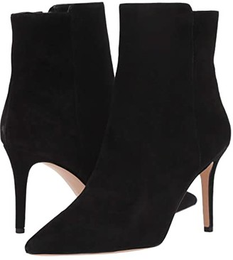 J.Crew Suede Lana Ankle Boot (Black) Women's Shoes