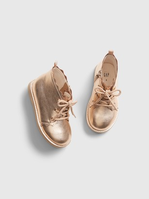 Gap Toddler Metallic Sculpted Ankle Boots