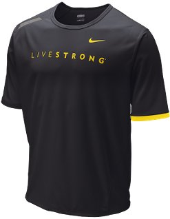 Nike LIVESTRONG Dri-Fit UV Short-Sleeve Men's Shirt