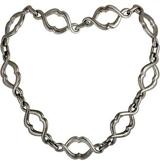 Stephen Webster Silver Cat's Eye Necklace
