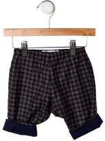 Bonpoint Boys' Checkered Virgin Wool Pants w/ Tags