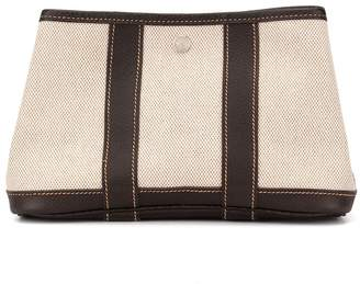 Hermes Pre-Owned Garden Party pouch