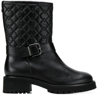 Högl Quilted Mid-Calf Boots