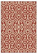 Orian Rugs Eutaw Promise Indoor/Outdoor Area Rug - Red