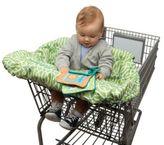 Boppy Shopping Cart Cover in Park Gate Green