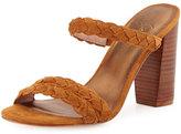 Joie Alexus Braided Mule City Sandal, Whiskey