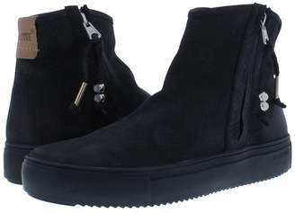 Blackstone Side Zip High-Top Sneaker
